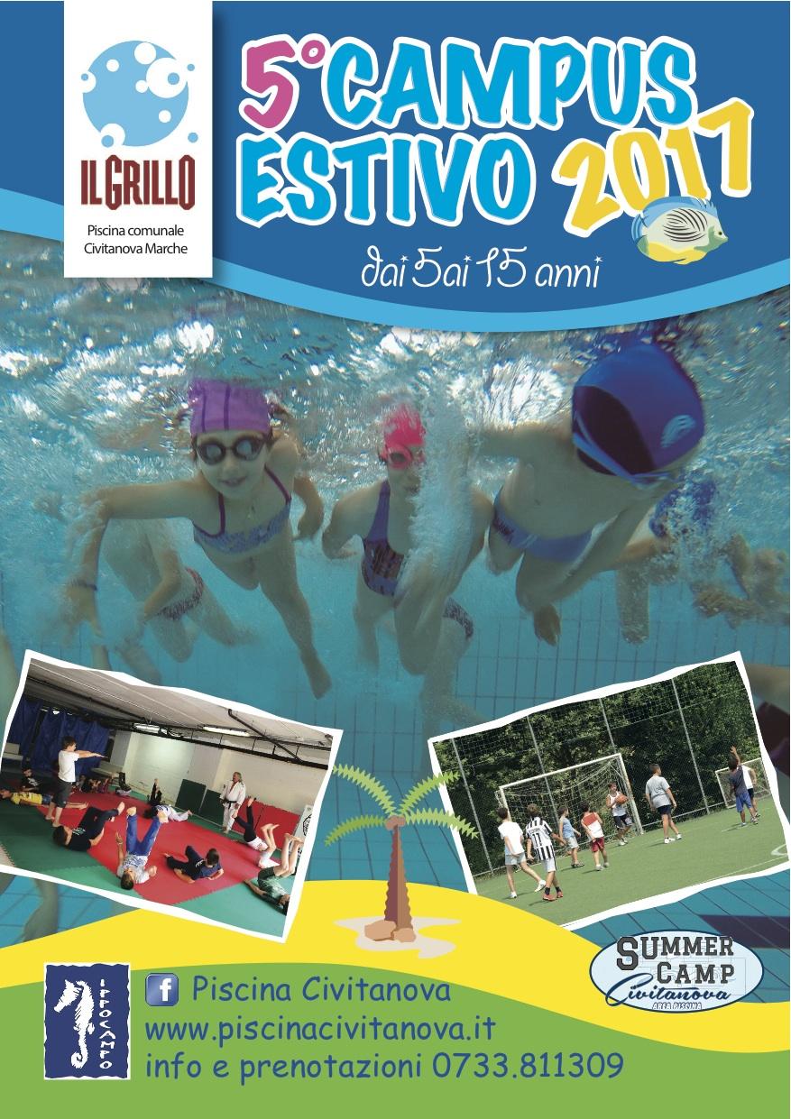 5° Campus estivo | Piscina Comunale di Civitanova Marche